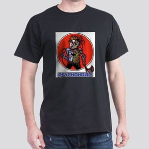 Psychoholic Black T-Shirt